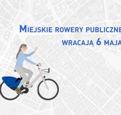 (Polski) W Ciechanowie startuje sezon rowerów miejskich
