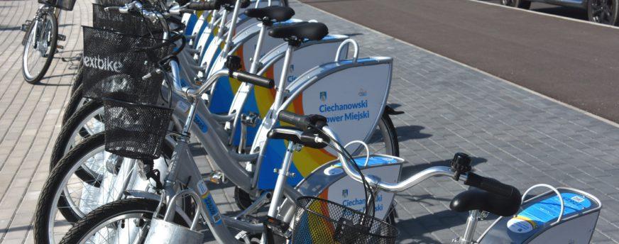 Rośnie popularność Ciechanowskiego Roweru Miejskiego